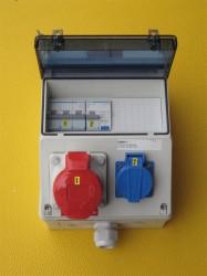 Demelectric Wandverteiler 16-220 mit Fi C10