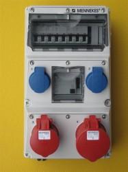 Mennekes 930260 Stromverteiler Amaxx Fi 63A