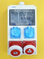 Stromverteiler Wolfsburg 32-16-2x220V Fi ip67 063.112.0111-1 ean 4028232113080