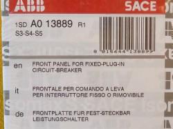 ABB 1SD A0 13889 R1 Frontplatte für Leistungsschalter S3 S4 S5