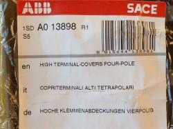 ABB 1SD A0 13898 Klemmenabdeckung vierpolig für Leistungsschalter S5