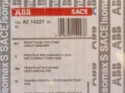 ABB 1SD A0 14227 Frontplatte für Leistungsschalter S7