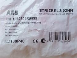 (Grundpreis 0,8475€/Stk.) 40 Stück ABB Striebel & John Abdeckungshalter 2CPX062603R9999
