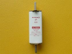 Efen NH Sicherung NH-Einsatz 1L 63A gB 1000V AC Feinsilber Art.35041.0120 NH-Sic