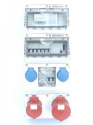 Mennekes 940444 Stromverteiler Amaxx Fi 32A